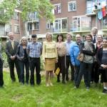 Prinses Máxima op werkbezoek bij Foodscape Schilderswijk!