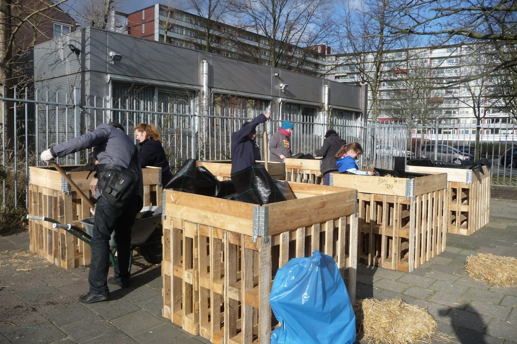 Foodscape Wildeman breaks ground for ground breaking urban agriculture in Amsterdam
