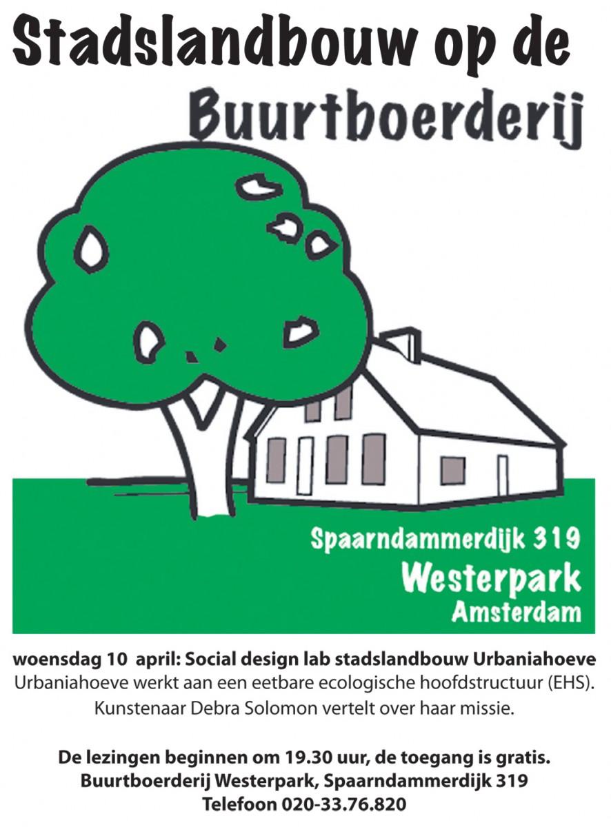 Urbaniahoeve lezing over Stadslandbouw op de Buurtboerderij