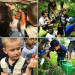 An other inspiring day at the #demotuinnoord. These #children are our #future and we need to teach them about nature <3 #urbaniahoeve